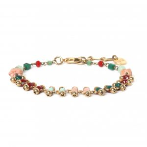 ELSA bracelet chaine émaillée