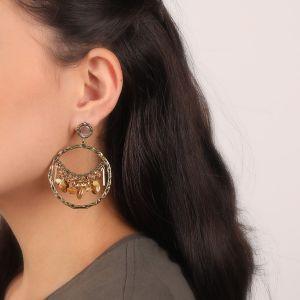 AMANDINE boucles d'oreilles gitanes