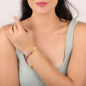CAMILLE bracelet fermoir tube