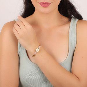 CAMILLE bracelet rigide caurie