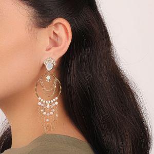 ISABELLE boucles d'oreilles grand modèle