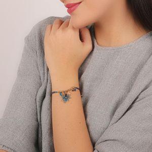 JULIETTE bracelet cordon & pampilles