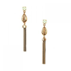 "<span class=""collection_name"">Camille</span>Boucles d'oreilles chaines & caurie"