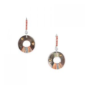 DANNIE boucles crochet mini strass
