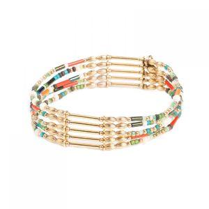 EMMA bracelet 5 rangs extensible