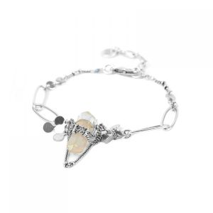 "<span class=""collection_name"">Katy</span>Bracelet chaine & cristal"