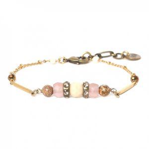 COMPLICES-NINA bracelet fin fermoir mousqueton