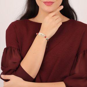 ANGELE bracelet médaille ovale