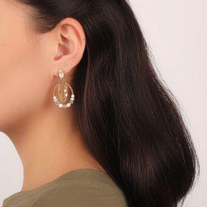 ISABELLE boucles d'oreilles forme goutte