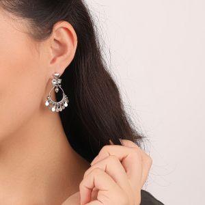 KATY boucles d'oreilles goutte mini disques