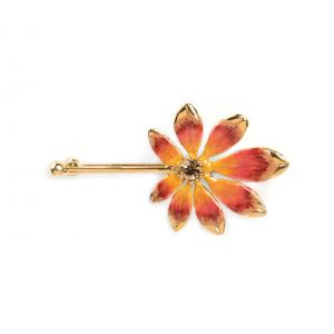 LISE broche feuille