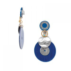 FLO clips ronds grand modèle (bleu)