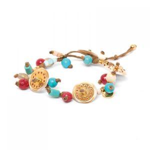 ANGELE bracelet fermoir bouton