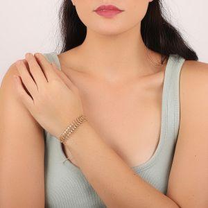 CAMILLE bracelet rigide épi