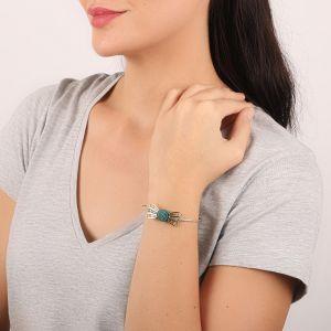 MELISSA bracelet rigide noeud