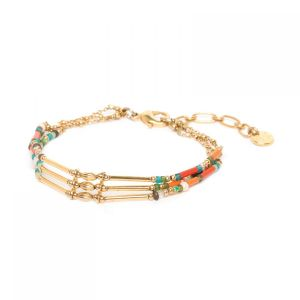 EMMA 3 rows bracelet