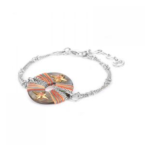 DANNIE bracelet fin anneau Nacre