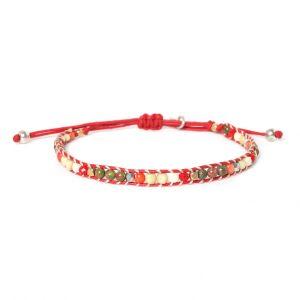 COMPLICES-JANNA bracelet macramé perles tissées
