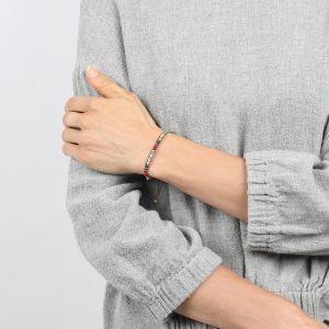 COMPLICES-ELSA bracelet macramé perles tissées