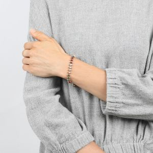 COMPLICES-ELSA bracelet chaine émaillée