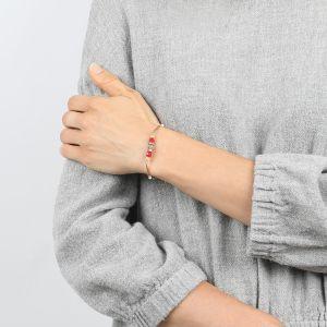 COMPLICES-JANNA  bracelet fin fermoir mousqueton