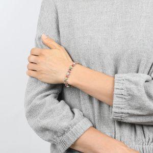 COMPLICES-JANNA  bracelet chaine émaillée