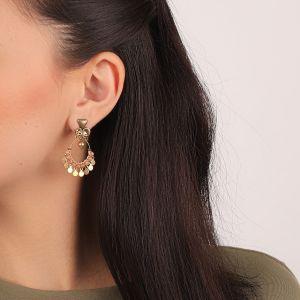 CLARA boucles d'oreilles gitanes mini disques