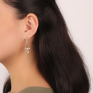 ISABELLE boucles crochets mini strass