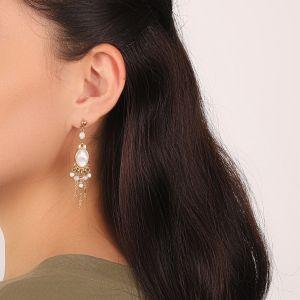 ISABELLE boucles d'oreilles 5 pampilles
