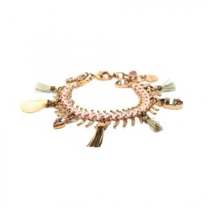 CAMILLE bracelet multipampilles