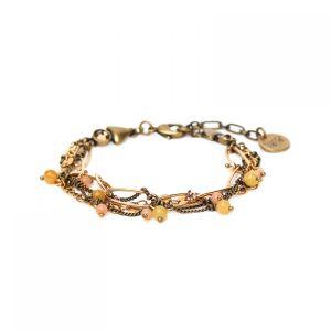 CLARA bracelet 4 rangs