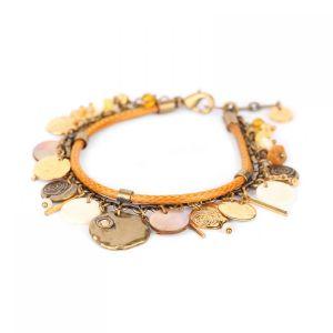 AMANDINE bracelet multipampilles