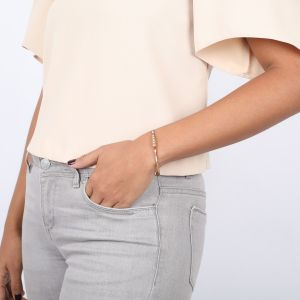 DEBORAH bracelet jonc mini strass