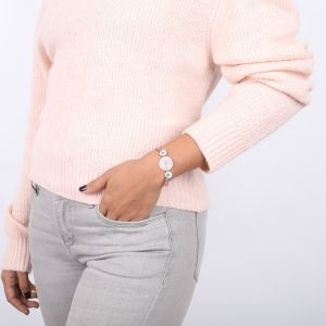LUCINE bracelet cordon fermoir bouton