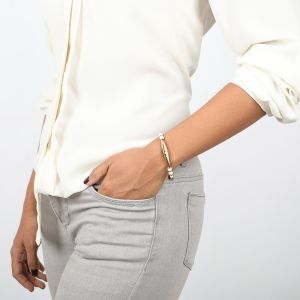 CLEMENCE bracelet extensible recto/verso