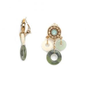 SOLENE boucle clips 3 anneaux