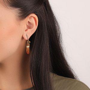 CLARA petites boucles d'oreilles mini strass
