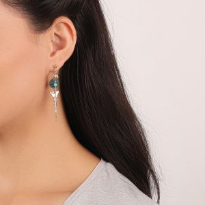 MELISSA boucles d'oreilles 2 rangs