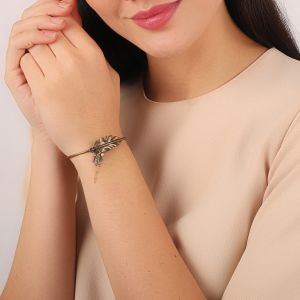LEELOU leaf bangle