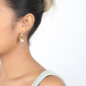 SIENNA boucles mini perles 1 chaine