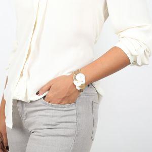 APRIL bracelet multirangs Nacre