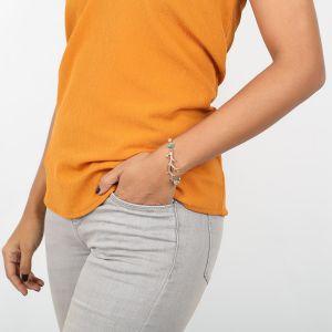 NAHIA bracelet branche corail dorée