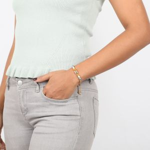 SIENNA bracelet caurie cordon ajustable