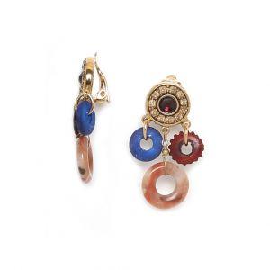 BELLA boucles clips 3 anneaux