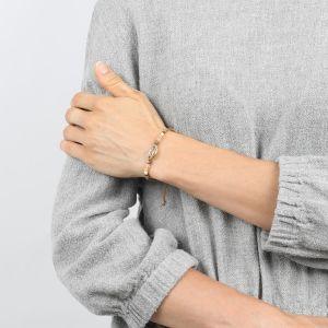 COMPLICES-NINA bracelet Caurie macramé