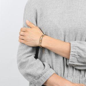 COMPLICES-NINA bracelet macramé 3 rangs