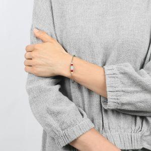 COMPLICES-ELSA bracelet fin fermoir mousqueton