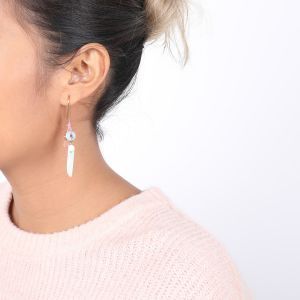 LUCINE boucles long crochet grappe
