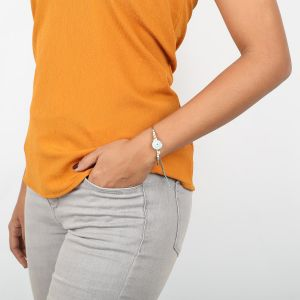 NAHIA bracelet rigide coquillage