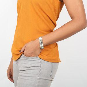 NAHIA wide chain bracelet